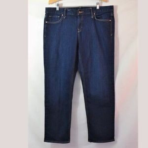Gap 1969 Real Straight Leg Jeans Size 33s x 28